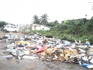 Abidjan- les ordures sont partout