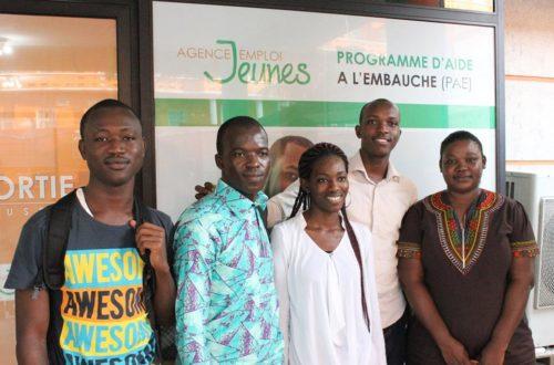 Article : les jeunes ivoiriens et l'entreprise privée.