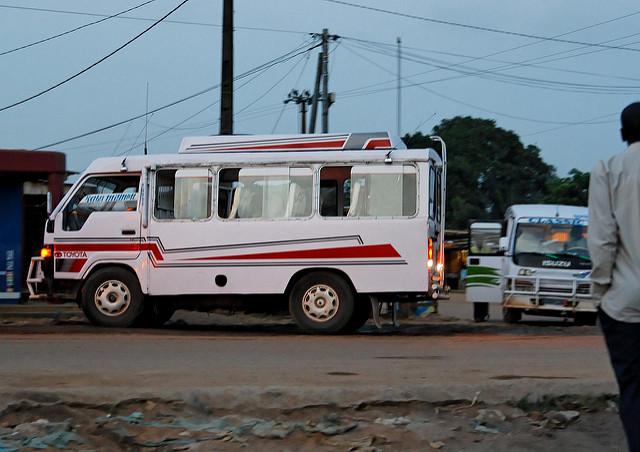 Gbaka moyen de transport d'abidjan